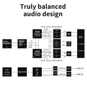Image 4 - FiiO Android M11 HIFI musique lecteur MP3 avec sortie équilibrée/prise en charge WIFI/Air Play/Spotify Bluetooth 4.2 aptx hd/LDAC DSDUSB DAC