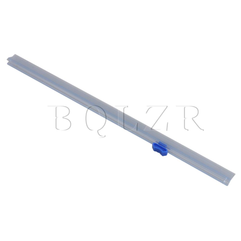 BQLZR 32 Cm Length Transparent And Blue Cling Film Cutter For Food Warp Box