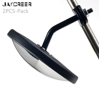 JayCreer 2PCS-Pack School Bus Large Truck Blind Spot Mirror Rearview Auxiliary Extended Installed Mirror