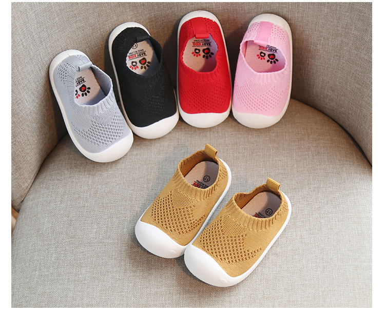 2020 Spring Kids Shoes For Girl Infant Toddler Boys Shoes Casual Mesh Shoes Soft Sole Kids Children Baby Sneakers First Walkers
