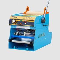 Manual Sealer Plastic Fresh Box Sealing Machine Square Fast Food Box Capping Machine Takeaway Lunch Box Sealing Machine WY 808