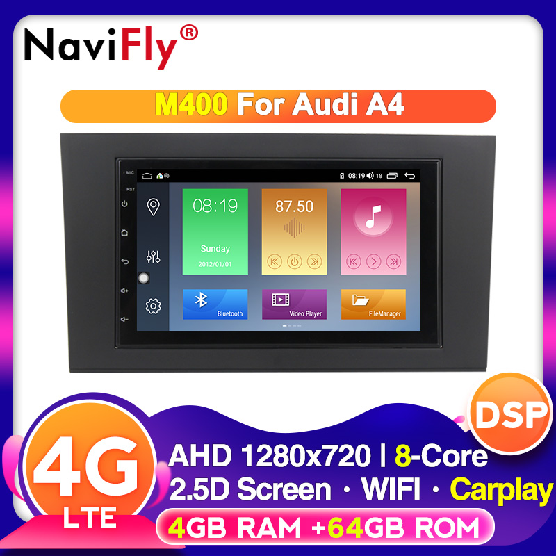 4G LTE Android Car Multimedia radio stereo player For Audi A4 B6 B7 S4 B7 B6 RS4 B7 2002 2008 WIFI GPS Carplay|Car Multimedia Player| - AliExpress