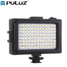 PULUZ 104 Led 写真ビデオ & 写真スタジオライトホワイト & オレンジマグネットフィルターライトパネルキヤノン、ニコン、デジタル一眼レフカメラ