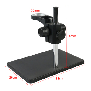Image 5 - 3.5X 90X Continuous Zoom Binocular Stereo Microscope Focus Arm 76MM Head Holder LED Ring Illuminator Lamp For IPhone Repair
