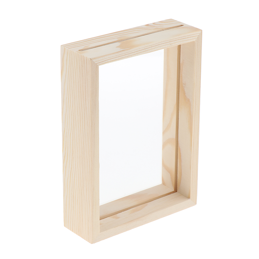 Photo Frame Picture Poster Frame Transparent Wooden Home Display Decoration Wall Decoration