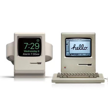 Charger Dock-Compact-Station Watch-Stand Desktop-Holder Docking Apple Retro for 1/2-38mm