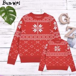 Bunvel natal família combinando roupas camisola papai mamãe e me roupas argyle neve impresso da criança do bebê meninas meninos topos