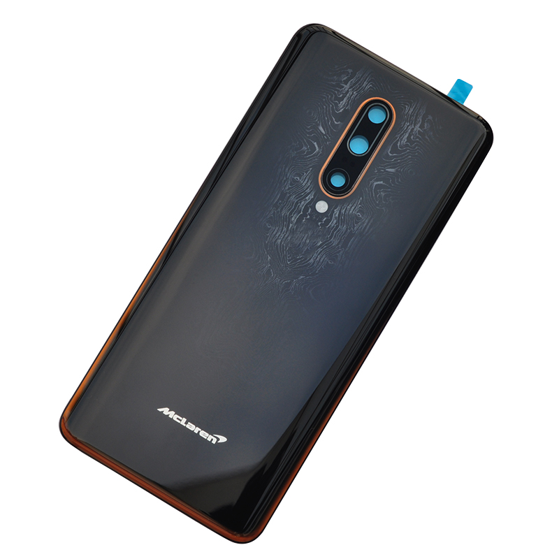ZUCZUG New Glass Rear Housing For Oneplus 7T Pro Battery Cover Back Case With Camera Lens+Logo Mclaren Black / Blue In Stock