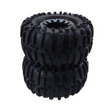 1/10 Universal Big Car Climbing Modified Upgrade Parts Tire Aluminum Alloy Wheel For Traxxas