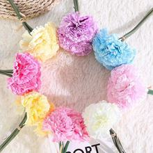 peony artificial artificial silk flowers for home decoration wedding bouquet for bride high quality fake flower faux living room