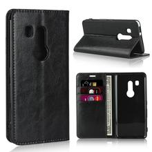 Crazy Horse Genuine Leather Wallet Flip Case for Fujitsu Arrows NX F-04G F-02H F-01K F-01J F-03K BE BE3 F-05J F-02L F-04K