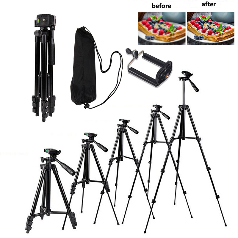 Universal Telescopic Tripod Stand Holder For Samsung Galaxy Digital Camera Holders Stands For Huawei Mate Honor Accessories