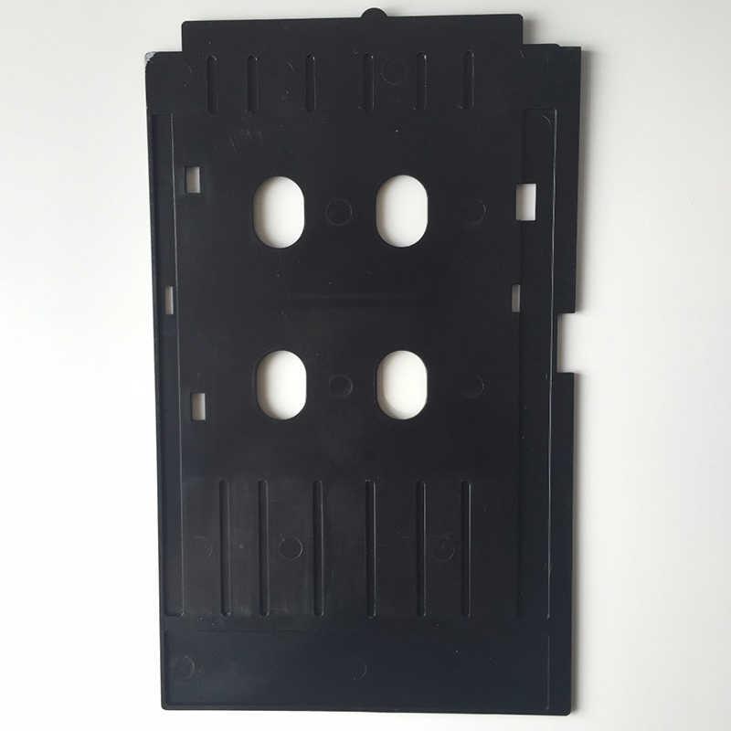 PVC ID Card + 1 PC PVC ID Kartu Tray untuk Epson T50 T60 R260 R265 R270 R280 R290 R380 r390 RX680 A50 P50 L800 L801 R330 L850