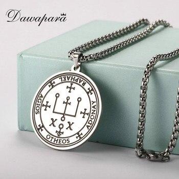Dawapara-collar de amuleto de sellar de Arcángel Raphael, Supernatural, el patrón de...