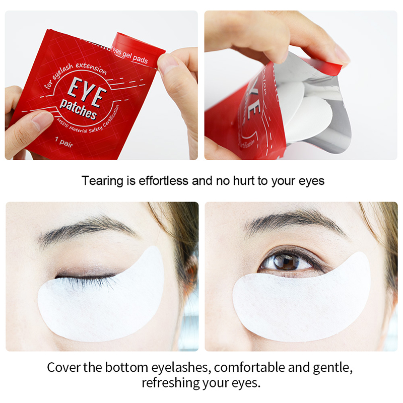†Closeout DealsNAGARAKU Patches-Gel-Patch Eyelash-Extensions Under-Eye-Pads for Make-Up Aloe-Vitamin-PatchÌ
