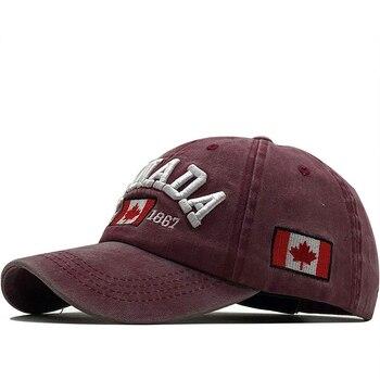 New men's baseball cap for women snapback hat CANADA embroidery bone gorras casual casquette men - discount item  70% OFF Hats & Caps