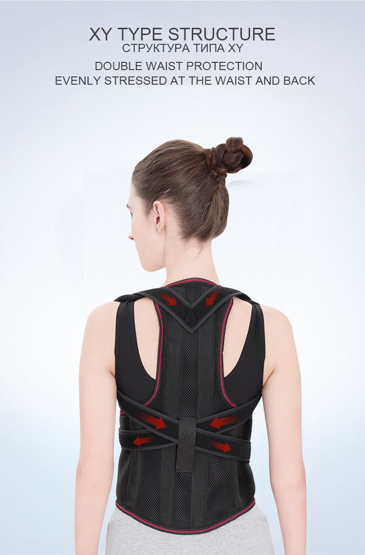 Chasall Posture Corrector Belt to Correct Back and Shoulder Posture  Provides Back Support Prevents Habitual Hunchback Helps to Relieve Shoulder and Back Pain 10