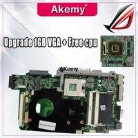 Atualizar 1 gb vga + t7500 cpu grátis para asus k51ab k51af k70af k70ab k70ad placa mãe do portátil mainboard 100% ok|Placas-mães| |  -