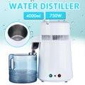 Дистиллятор для чистой воды 110 В/220 В, 750 Вт, 4 л, контейнер для очистки воды, устройство для фильтрации воды из нержавеющей стали, бытовое устро...
