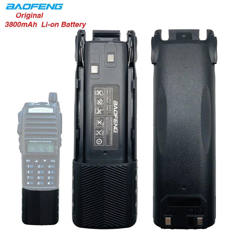 3800mAh BL-8 BAOFENG UV-82 High Capacity Li-ion Battery 2800mAh Car Charger For Baofeng Walkie Talkie UV82 UV 82 Radio