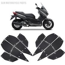 Acessórios da motocicleta cnc apoios de pé passo apoio para os pés pedais placa capa apto para yamaha xmax 300 X-MAX 250 300 2017-2020