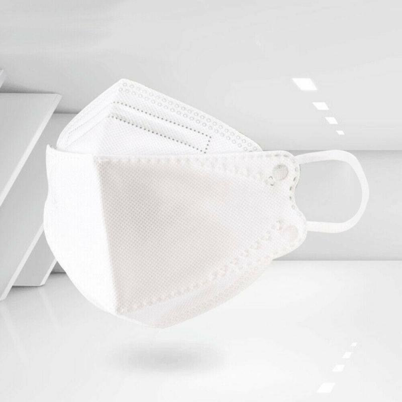 3Pcs Face Mask Anti Dust Bacterial  KF94 Mask 4-layer Filter Dustproof Protective 94%Filtration Provides Effective Protection