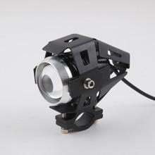 Motorcycle Motorbike Headlights Bulbs Lamp U5 Led Spotlight Hi/Lo Flash Accessories 12V Motor Fit