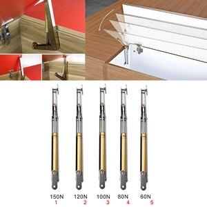 Mola hidráulica 50n/5kg da dobradiça do armário da porta da cozinha do apoio do elevador do suporte do gás, 60n/6kg, 80n/8kg, 100n/10kg, 120n/12kg, 150n/15kg