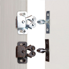 Hardware-Tool Catches Door-Latch-Locks Cupboard Cabinet Double-Ball-Roller Copper 1pcs