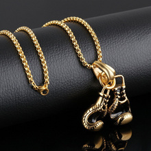 Car Hanger Hanging Zinc Alloy Boxing Gloves Pendant Interior Ornaments Decoration Accessories For Ornament