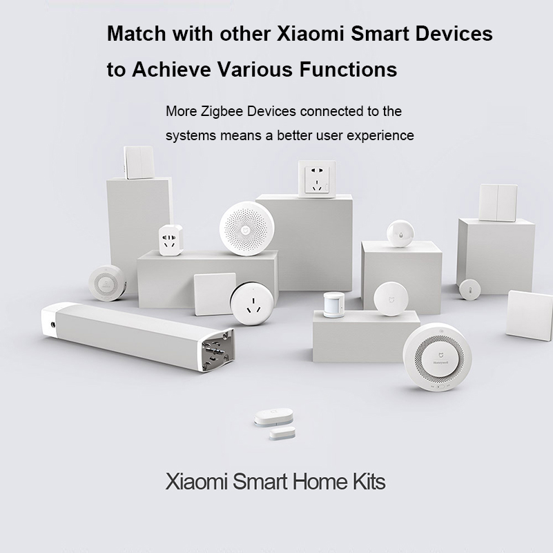 100% Original Xiaomi Mijia Aqara Hub Mi Gateway with RGB Led night light Smart work with For Apple Homekit International Edition