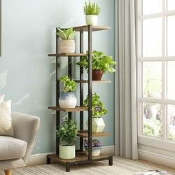 Estante de flores doméstico multi-capa interior precio especial estante para maceta con flores verde piña carne estante de flores estante de plantas
