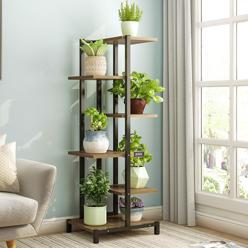 domestic flower shelf multi-layer indoor special price flower pot shelf green pineapple meat flower shelf plant shelf