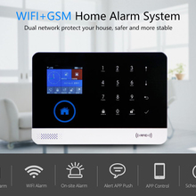 Security Alarm Alarm-Siren-Sensor-Kits Sms-Alarm-System WIFI GSM Autodial Burglar RFID
