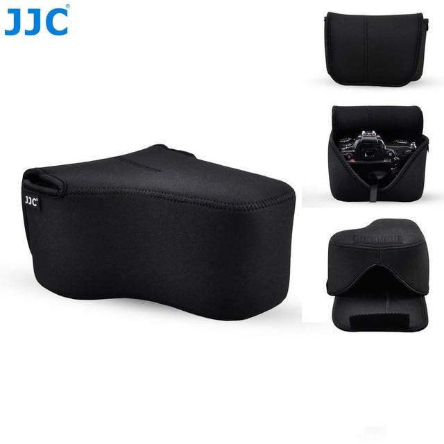 JJC etui na aparat etui torba dla Canon EOS RP R Nikon Z7 Z6 Z50 Sony A7R IV A7R III A7S II Fuji Fujifilm X T3 X T2 X T1 XT3 XT2