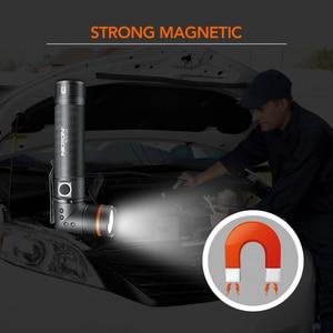 Image 5 - NICRON Handfree טוויסט LED פנס בהירות גבוהה עמיד למים 800LM CREE לבן/UV אור LED לפיד מגנט אור N72/ n72 UV