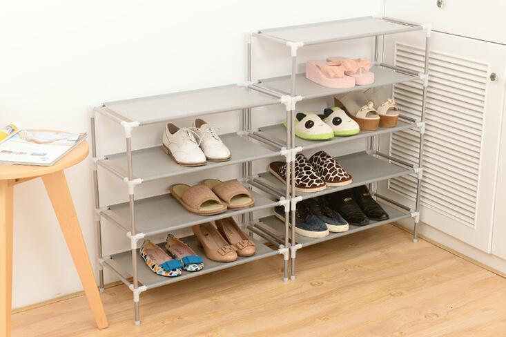 Non-Woven Fabric Dustproof Shoes Rack Storage Organizer Shoe Cabinet Shoes Shelf Hallway Bedroom Livingroom Footwear Shoe Racks