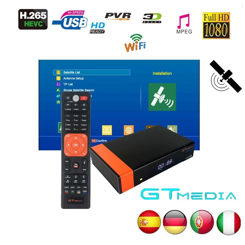 Gtmedia V8 NOVA From Freesat V8 Super Same As GTMEDIA V8 Honor DVB-S2 For 2 Year Europe Cline Built Wifi High Quality Stable