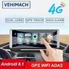 4G Dash Cam GPS Wifi For Car DVR Android 8.1 ADAS Bluetooth 1080P Dashboard Navigation Auto Video Recorder Camera Park Monitor