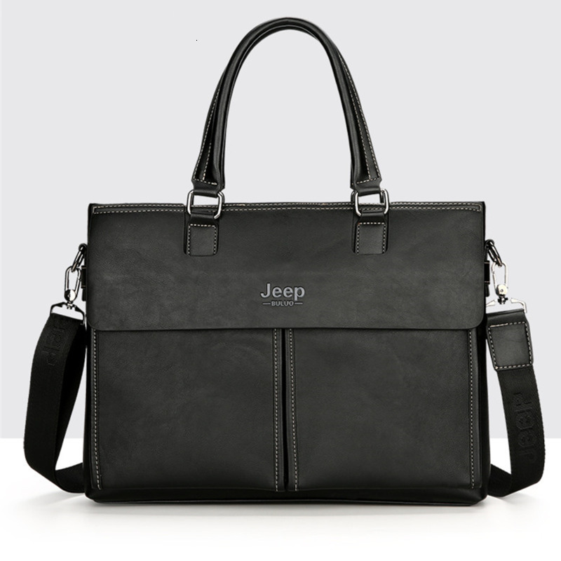 Handbag Men Briefcases Fashion Big Business Leather Hand Bag For Laptop Bags Man New Travel Tote A4 Files Bolso Hombre Sac Homme