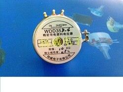 Potenciómetro de plástico conductivo de precisión WDJ36-Ⅰ 0.1% WDJ36-1 de sensor de plástico conductivo