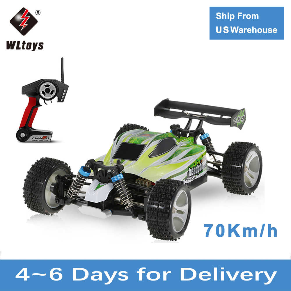 Rc Auto Wltoys A959 A959B 1/18 70 Km/h Hoge Snelheid Racewagen 540 Brushed Motor 4WD Off-Road Afstandsbediening controle Elektrische Auto Rtr Rc Speelgoed