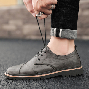 Image 3 - Brand Men Oxfords Shoes British Style Men Genuine Leather Business Formal Shoes Dress Shoes Men Flats Top Quality Loafers