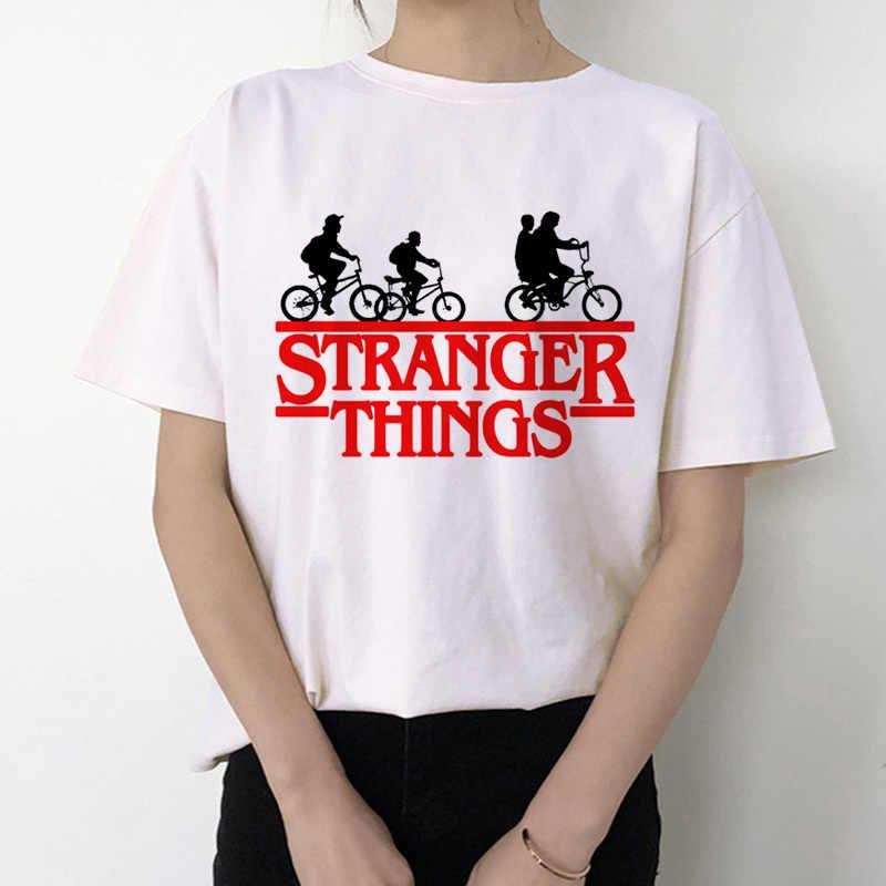 غريب الأشياء 3 T قميص المرأة الجديدة التي شيرت عشر القوطية الإناث الملابس الهيب هوب فام 2019 الشارع الشهير الكرتون مضحك Kawaii