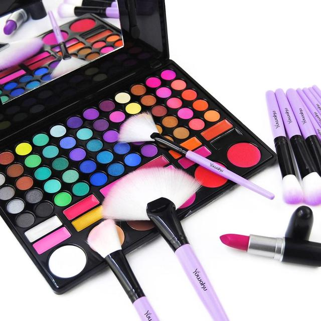 VANDER 32Pcs Makeup Brush Set W/ Bag Foundation Eye Shadows Lipsticks Powder Brushes Cosmetic Make up Brushes pincel maquiagem 5