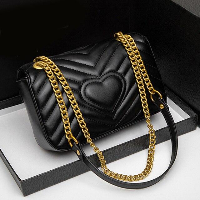 New Fashion Women Bag Diamond Genuine Leather Fashion Messenger Casual Shoulder Bag Crossbody Bags Ladies Bag