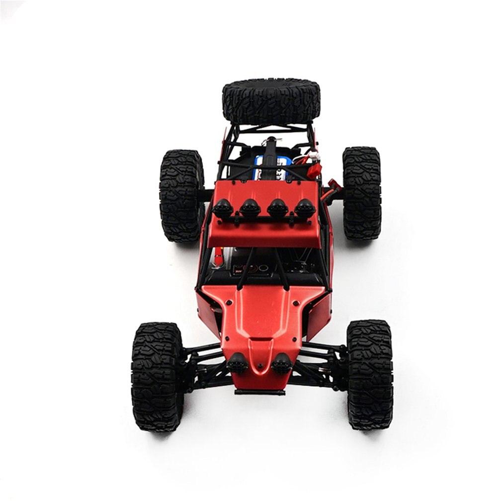FY 03H 1:12 RC Car 2,4G Off Road Racing camión de escalada del desierto 4DW juguete de Control remoto vehículo Rock Crawler sin escobillas 35 km/h - 5