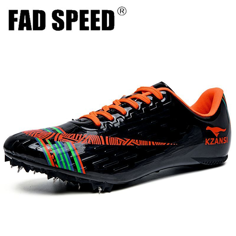 Men's Soft bottom Spikes Professional sneakers Women's Track and Field Shoes  Running Training Shoes Light sports shoes Unisex 4