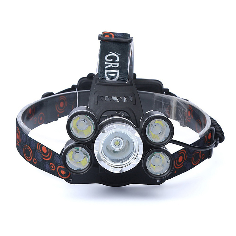 Led Headlamps T6 L2Headlight Waterproof Zoomable Lantern  4 Model Head Lamp By 18650 Battery Best For Camping Fishing