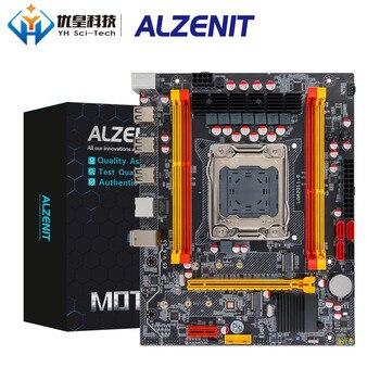 ALZENIT X79M-CD3 Intel X79 Motherboard LGA 2011 Xeon E5 Support ECC REG DDR3 128GB M.2 NVME NGFF SATA3.0 M-ATX Server Mainboard цена 2017